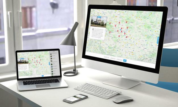 Spezielle Maps-Webseite