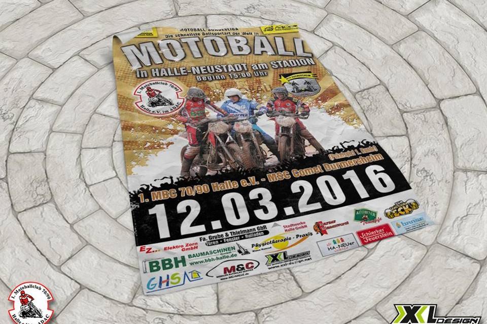 Motoball Plakat