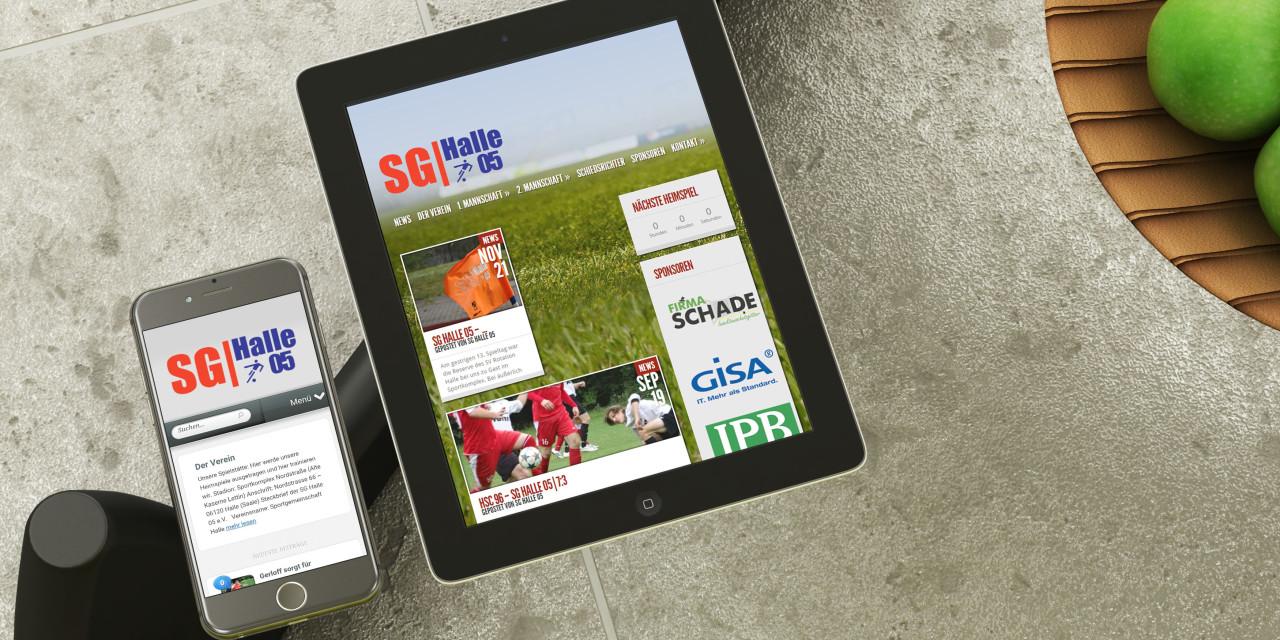 Sport und Webseite frei!